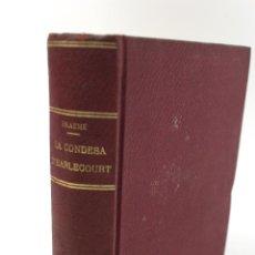 Libros antiguos: L-2835 LA COMTESA D'EARLESCOURT. CARLOTA M. BRAEMÉ. EDICIONS BOSCH. NOVEL.LA EN CATALÀ. Lote 53221081