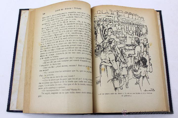 Libros antiguos: L-2729. LA SENYORETA DE CASA-JUST NOVEL.LA PER JOSEP Mª FOLCH I TORRES. ED. JOSEP BAGUÑÁ 1935 - Foto 4 - 53255016