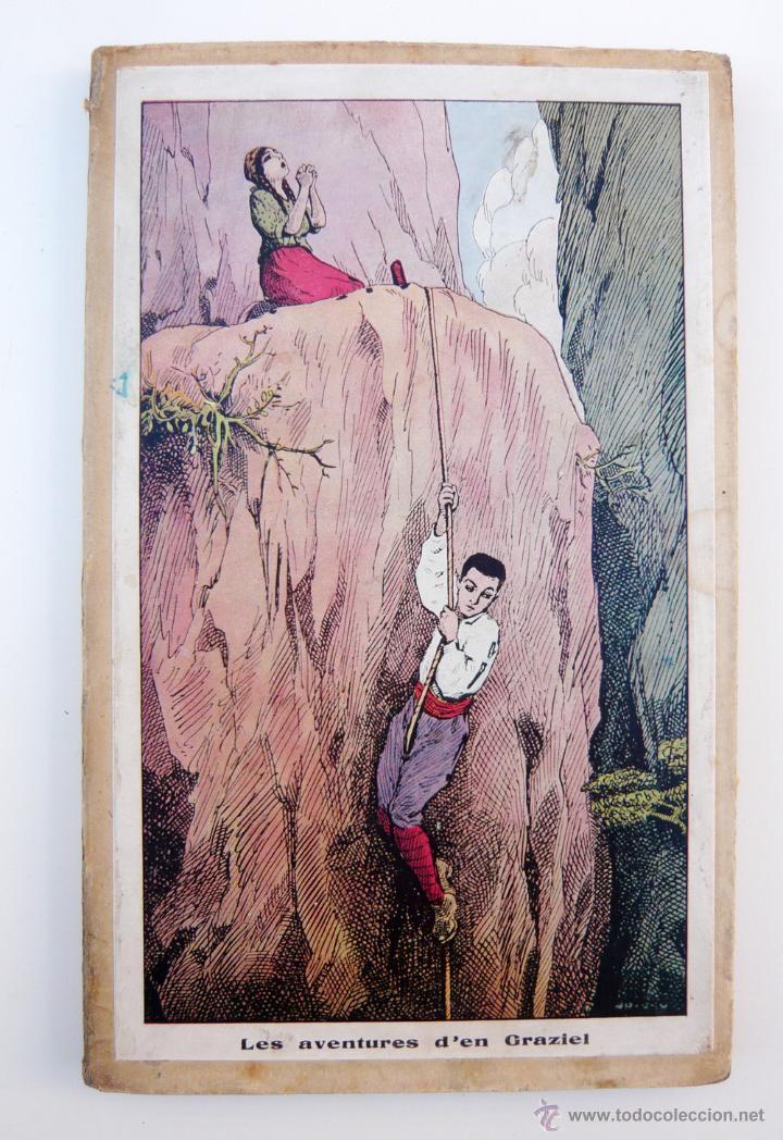 Libros antiguos: AVENTURES DE GRAZIEL / J.M. FOLCH I TORRES / IMP. ELZEVIRIANA / 1ª ED. / ILUSTRADO X OPISSO / RARO - Foto 2 - 53695212
