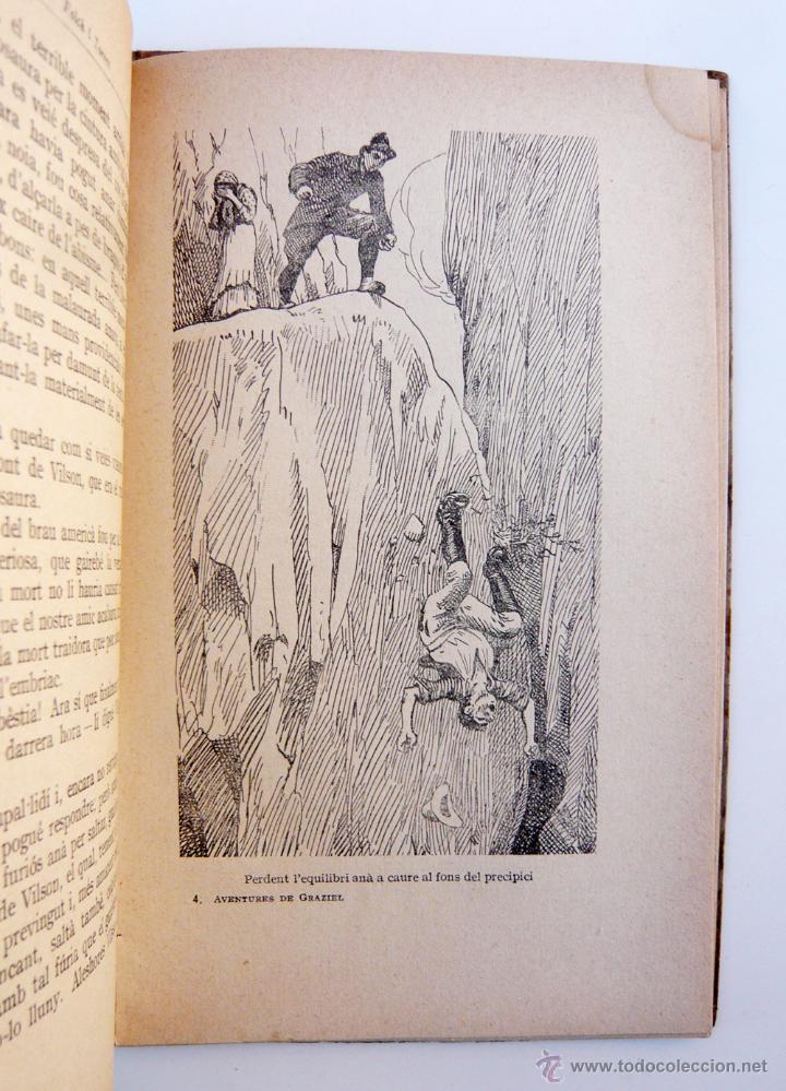 Libros antiguos: AVENTURES DE GRAZIEL / J.M. FOLCH I TORRES / IMP. ELZEVIRIANA / 1ª ED. / ILUSTRADO X OPISSO / RARO - Foto 5 - 53695212