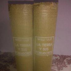 Libros antiguos: LA TIERRA Y SUS POBLADORES. Lote 54923325