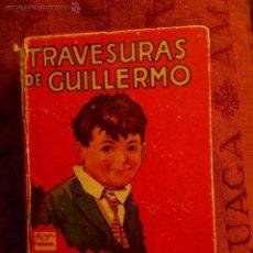 Libros antiguos: TRAVESURAS DE GUILLERMO, RICHMAL CROMPTON 1 EDICION 1935. Lote 55038858