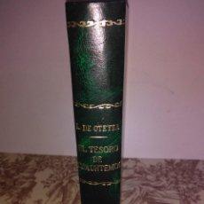 Libros antiguos: EL TESORO DE CUAUHTÉMOC. Lote 56095125