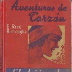 Libros antiguos: BURROUGHS, EDGAR RICE: EL HIJO DE TARZAN. SEGUNDA EDICIÓN. BARCELONA, GUSTAVO GILI S.F.. Lote 56303539