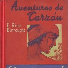 Libros antiguos: BURROUGHS, EDGAR RICE: EL REGRESO DE TARZAN. 4ª EDICIÓN. BARCELONA, GUSTAVO GILI . Lote 56303674