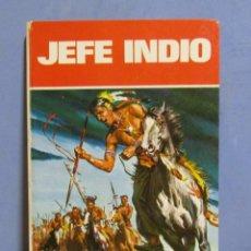 Libros antiguos: JEFE INDIO EDICIONES LAIDA (EDICIONES FER S.A.) AÑO 1973 CONTIENE 5 AVENTURAS EXCELENTE ESTADO. Lote 56575916