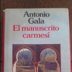 Libros antiguos: GALA - EL MANUSCRITO CARNESI . Lote 57363773