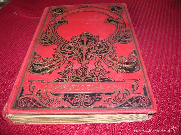 MUY ANTIGUO LIBRO EN FRANCÉS .L ORPHELINE DES FAUCHETTES (Libros Antiguos, Raros y Curiosos - Literatura Infantil y Juvenil - Novela)