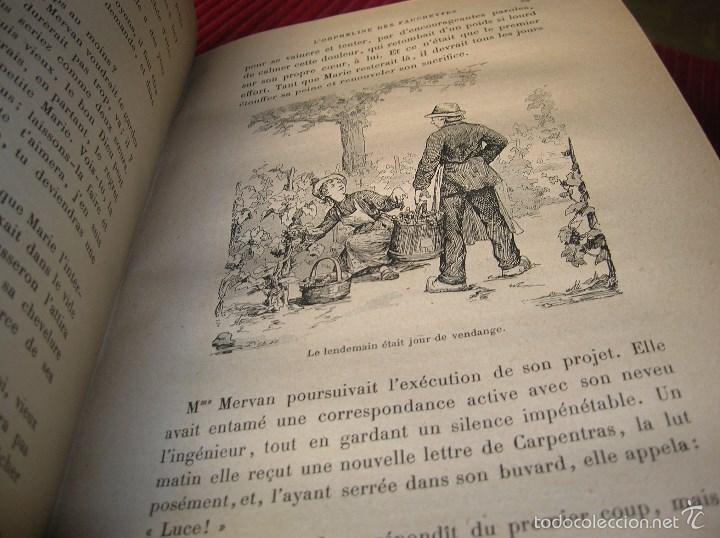 Libros antiguos: Muy antiguo libro en francés .L Orpheline Des Fauchettes - Foto 4 - 57650742
