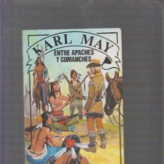Libros antiguos - ENTRE APACHES Y COMANCHES / MAY, KARL - 58209513