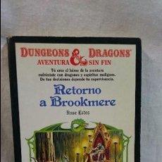Livres anciens: TIMUN MÁS, RETORNO A BROOKMERE, NÚMERO 4. Lote 60676431