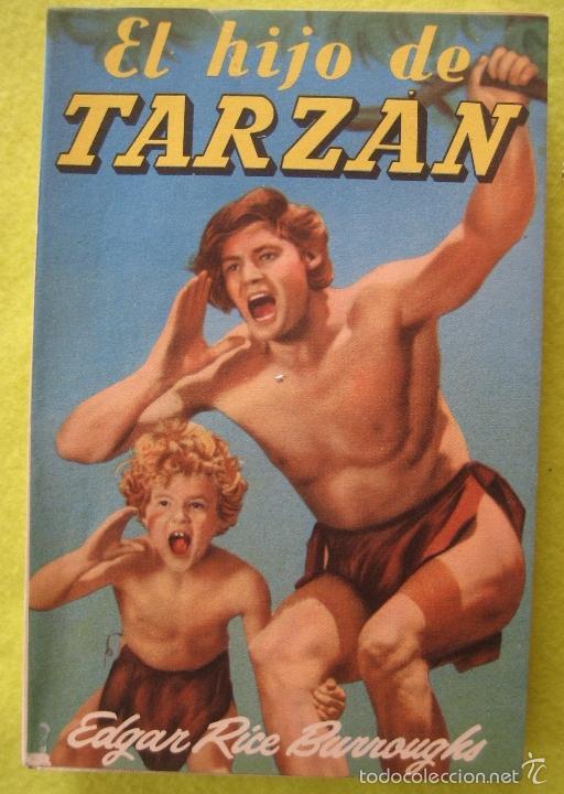 EL HIJO DE TARZAN _ EDGAR RICE (Libros Antiguos, Raros y Curiosos - Literatura Infantil y Juvenil - Novela)