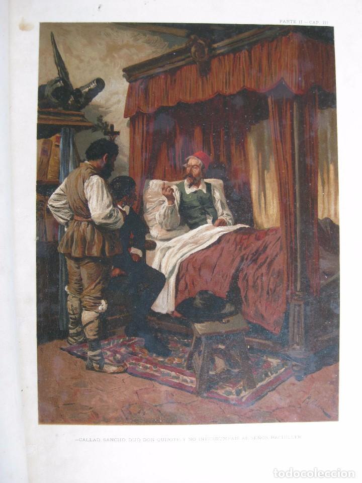 Libros antiguos: Don Quijote de la Mancha edición MDCCCLXXXIII - Foto 4 - 61804856