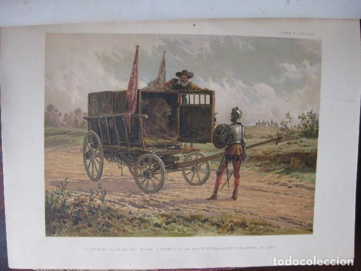 Libros antiguos: Don Quijote de la Mancha edición MDCCCLXXXIII - Foto 5 - 61804856