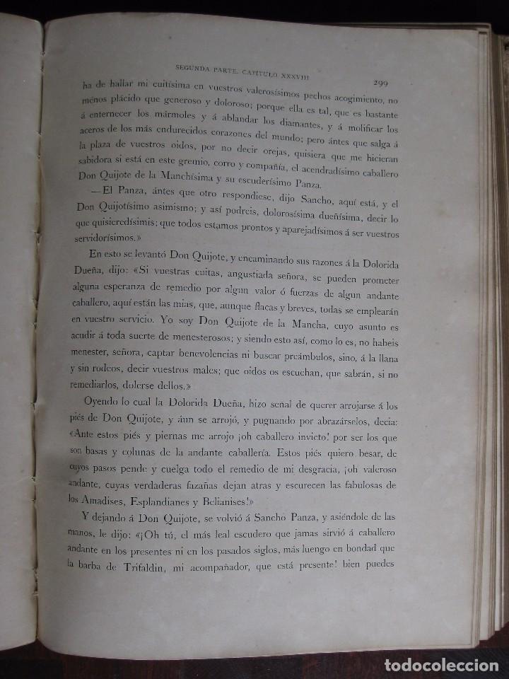 Libros antiguos: Don Quijote de la Mancha edición MDCCCLXXXIII - Foto 6 - 61804856