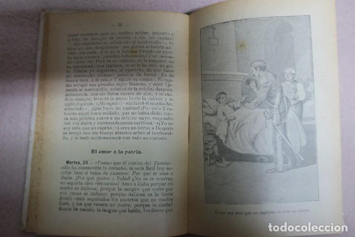 Libros antiguos: Corazón. Edmundo de Amicis. Trad. Giner de los Ríos. Madrid sin fecha. Librería Hernando.309 pp. 9 l - Foto 2 - 62098760