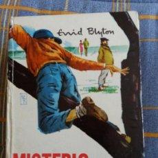 Libros antiguos: MISTERIO DEL FUGITIVO. ENID BLYTON.ED.MOLINO. SERIE AVENTURA. Lote 62331420