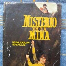 Libros antiguos: MISTERIO EN LA MINA. MALCOLM SAVILLE. SERIE AVENTURA. ED.MOLINO. Lote 62967864