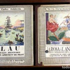 Libros antiguos: 8099 - EDITORIAL MENTORA. 2 EJEMPLARES(VER DESCRIPCIÓN). VV. AA. S/F.. Lote 63550600