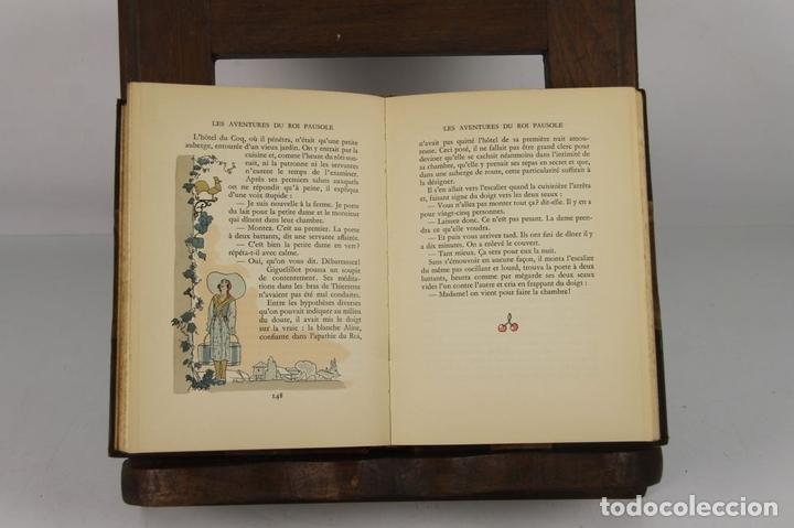 Libros antiguos: 4734- LES AVENTURES DU ROI PAUSOLE. PIERRE LUOŸS. EDIT. H. PIAZZA. 1939. - Foto 3 - 43677722