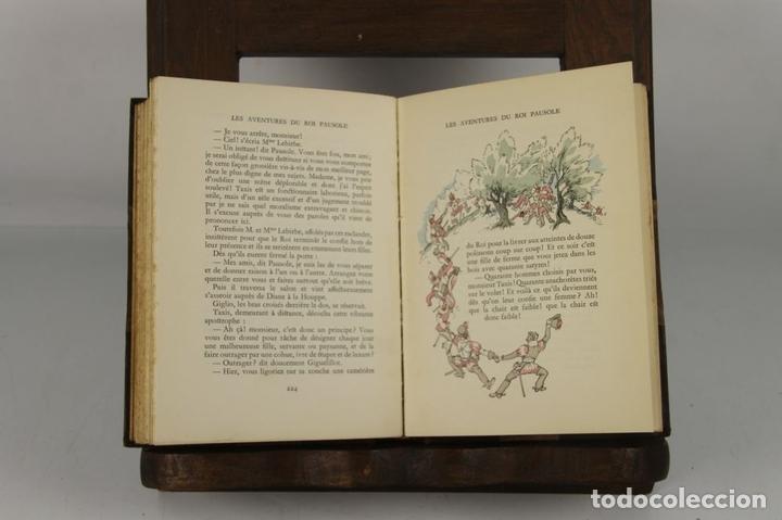 Libros antiguos: 4734- LES AVENTURES DU ROI PAUSOLE. PIERRE LUOŸS. EDIT. H. PIAZZA. 1939. - Foto 4 - 43677722