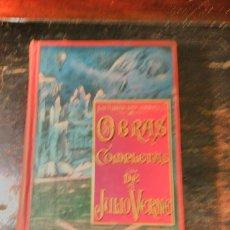 Libros antiguos: VERNE, JULIO. TOMO IV DE LAS OBRAS COMPLETAS EN CASTELLANO. S DE JUBERA EDITOR. MADRID, CA 1900.. Lote 64770027