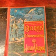 Libros antiguos: VERNE, JULIO. TOMO VI DE LAS OBRAS COMPLETAS EN CASTELLANO. S DE JUBERA EDITOR. MADRID, CA 1900. Lote 64771583