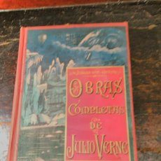 Libros antiguos: VERNE, JULIO. TOMO XI DE LAS OBRAS COMPLETAS EN CASTELLANO. S DE JUBERA EDITOR. MADRID, CA 1900.. Lote 64773391