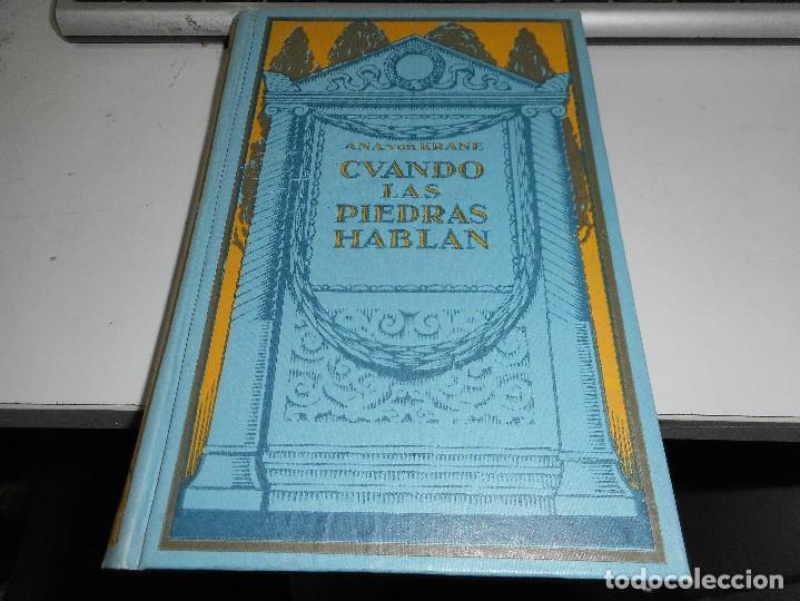 CUANDO LAS PIEDRAS HABLAN (Libros Antiguos, Raros y Curiosos - Literatura Infantil y Juvenil - Novela)
