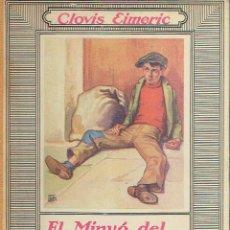 Libros antiguos: EL MINYÓ DEL COP DE PUNY. CLOVIS EIMERIC.. Lote 71546887