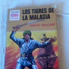 Libros antiguos - Los Tigres de la Malasia. Emilio Salgari - 71857719