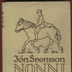 Libros antiguos: AVENTURAS DE UN JOVENCITO ISLANDES CONTADAS POR EL MISMO JON SVENSSON 395 PAGS AÑO 1925 LL1731. Lote 72748407