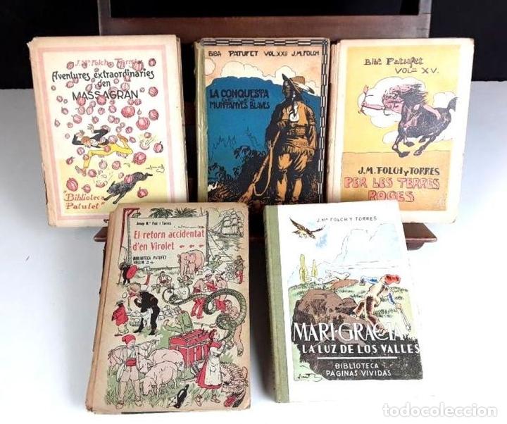 Libros antiguos: 8305 - BIBLIOTECA PATUFET. 8 VOLUM. FOLCH I TORRES. (VER DESCRIP). VV. EDITORIALES. 1922/1946. - Foto 2 - 72995691