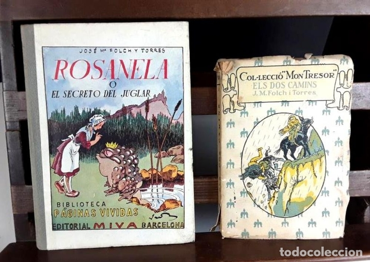 Libros antiguos: 8305 - BIBLIOTECA PATUFET. 8 VOLUM. FOLCH I TORRES. (VER DESCRIP). VV. EDITORIALES. 1922/1946. - Foto 3 - 72995691