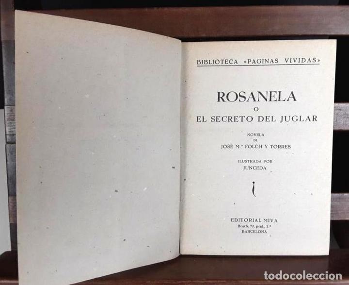 Libros antiguos: 8305 - BIBLIOTECA PATUFET. 8 VOLUM. FOLCH I TORRES. (VER DESCRIP). VV. EDITORIALES. 1922/1946. - Foto 5 - 72995691