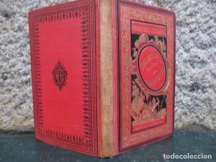 NARRACIONES LEGENDARIAS - HERMANOS GRIMM - BIBLIOTECA SELECTA JUVENTUD PARIS 1887 + INFO (Libros Antiguos, Raros y Curiosos - Literatura Infantil y Juvenil - Novela)