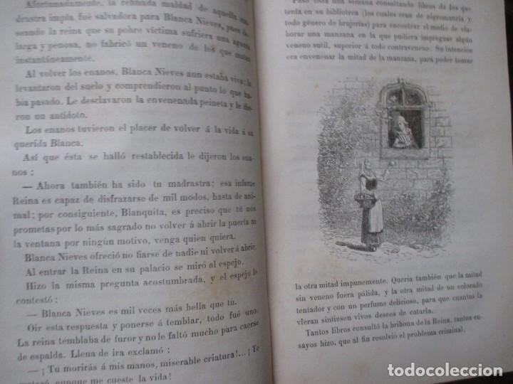 Libros antiguos: NARRACIONES LEGENDARIAS - HERMANOS GRIMM - BIBLIOTECA SELECTA JUVENTUD PARIS 1887 + INFO - Foto 5 - 262887725