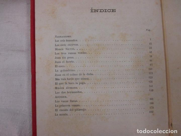 Libros antiguos: NARRACIONES LEGENDARIAS - HERMANOS GRIMM - BIBLIOTECA SELECTA JUVENTUD PARIS 1887 + INFO - Foto 2 - 262887725