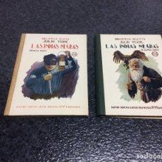 Libros antiguos: LAS INDIAS NEGRAS / JULIO VERNE , SELECTA SOPENA, - OBRA EN DOS TOMOS. Lote 74719623