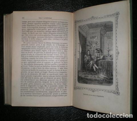 Libros antiguos: DEFOE, Daniel: VIDA Y AVENTURAS DE ROBINSON CRUSOE. Ed. Saturnino Calleja, Biblioteca Perla - Foto 4 - 76105623
