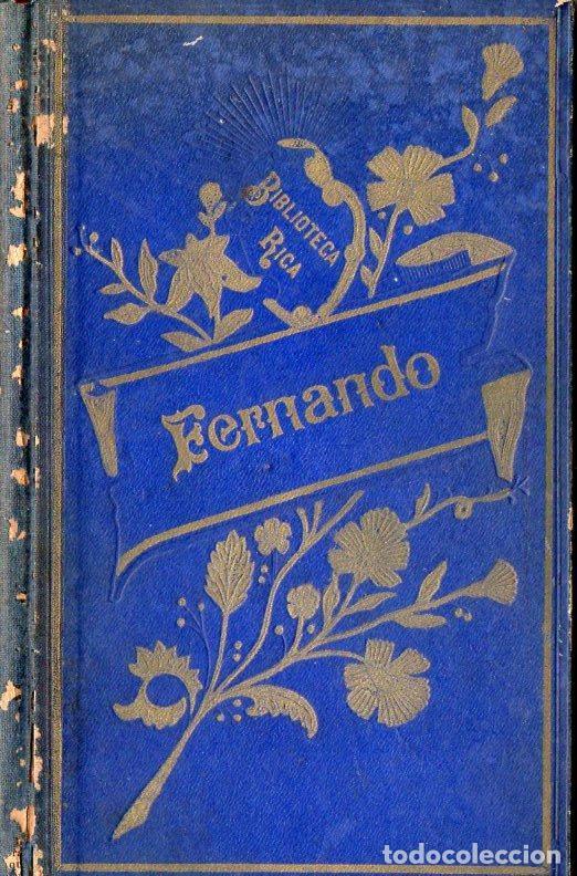 SCHMID : FERNANDO, HISTORIA DE UN JOVEN CONDE DE ESPAÑA (1914) (Libros Antiguos, Raros y Curiosos - Literatura Infantil y Juvenil - Novela)