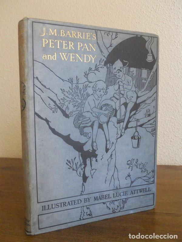 Libros antiguos: J.M. BARRIE: PETER PAN AND WENDY, HODDER & STOUGHTON, LONDON, 1930. - Foto 1 - 78346405