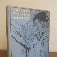 Libros antiguos: J.M. BARRIE: PETER PAN AND WENDY, HODDER & STOUGHTON, LONDON, 1930.. Lote 78346405