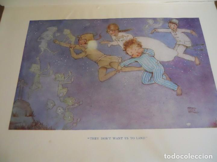Libros antiguos: J.M. BARRIE: PETER PAN AND WENDY, HODDER & STOUGHTON, LONDON, 1930. - Foto 3 - 78346405