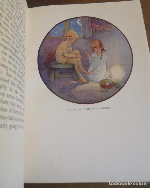 Libros antiguos: J.M. BARRIE: PETER PAN AND WENDY, HODDER & STOUGHTON, LONDON, 1930. - Foto 11 - 78346405