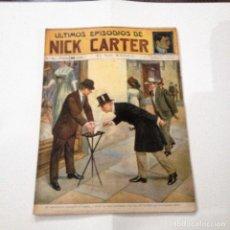 Libros antiguos: ULTIMOS EPISODIOS DE NICK CARTER, Nº 64. Lote 78523301