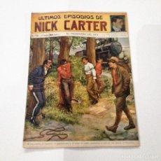 Libros antiguos: ULTIMOS EPISODIOS DE NICK CARTER, Nº 66. Lote 78524013