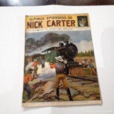 Libros antiguos: ULTIMOS EPISODIOS DE NICK CARTER, Nº 76. Lote 78524381