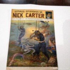 Libros antiguos: ULTIMOS EPISODIOS DE NICK CARTER, Nº 77. Lote 78524961