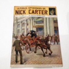 Libros antiguos: ULTIMOS EPISODIOS DE NICK CARTER, Nº 78. Lote 78525329